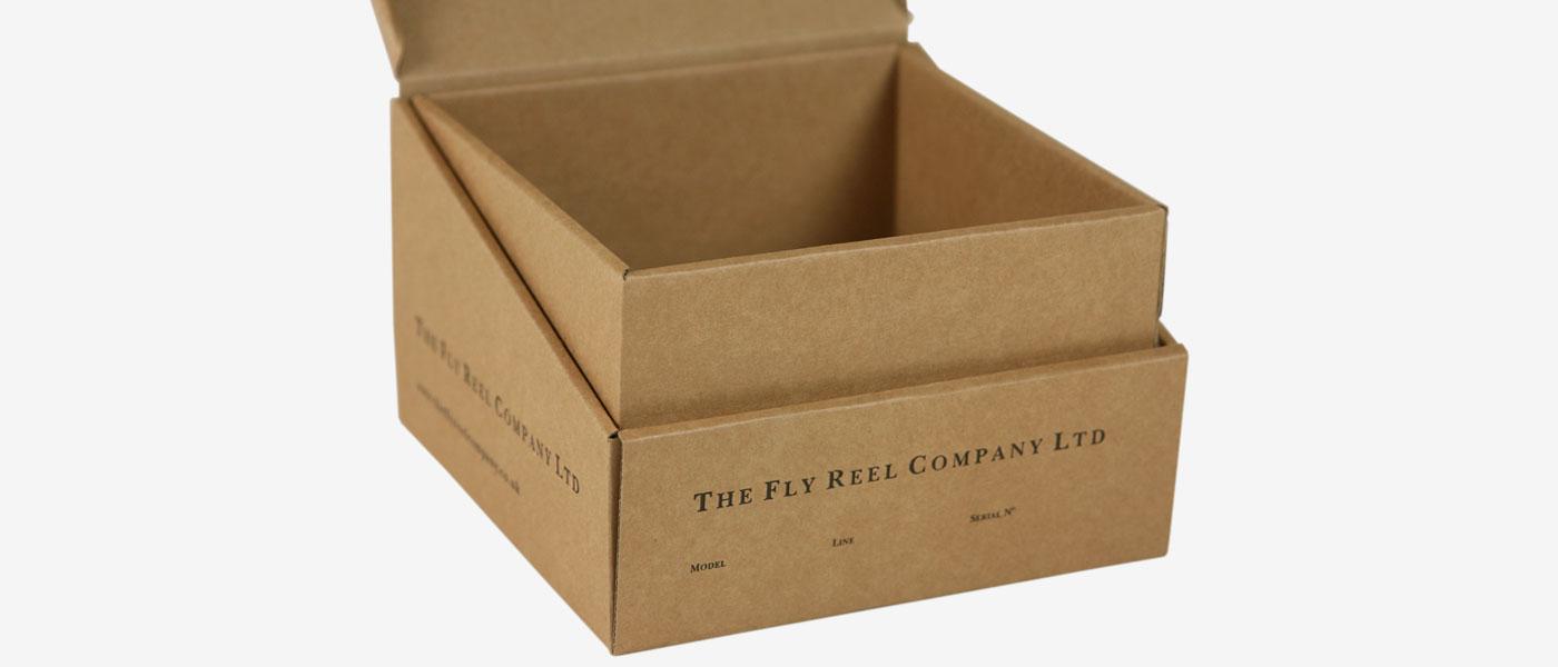 Corrugated Fishing Reel Box